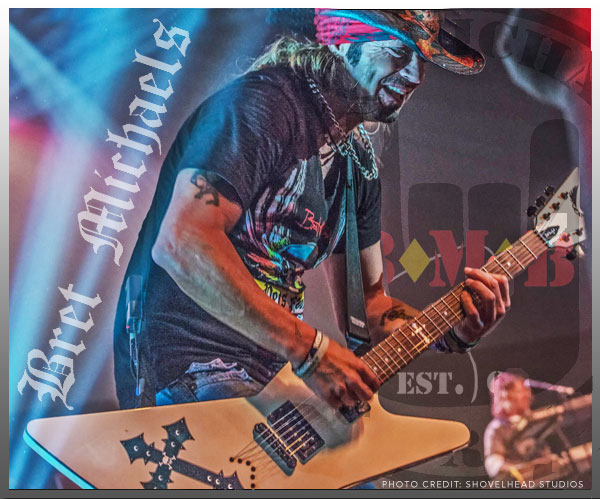 ARM Entertainment Artist - Bret Michaels, Photo Credit: Shovelhead Studios