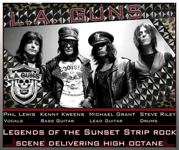 ARM Entertainment Artist - LA Guns